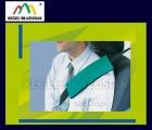 Poduszki koszulki na pas bezpieczeństwa. Kolor zielony