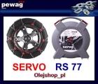 SERVO RS77 łańcuch śniegowy NOWOŚĆ. Komplet na dwa koła