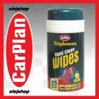 CarPlan Hand Clean Wipes. Ściereczki nasączone do czyszczenia rąk, o zapachu cytrynowym 25szt.