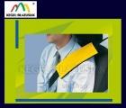 Poduszki koszulki na pas bezpieczeństwa. Kolor żółty
