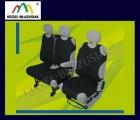 DELIVERY VAN DV 1+2. Pokrowce koszulki - kolor czarny