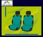 Pokrowce koszulki na przednie fotele. Rozmiar B - kolor zielony