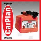 CarPlan Petrol Can. Kanister plastikowy do benzyny 5L
