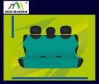 Pokrowce koszulki na tylną kanapę. Rozmiar uniwersalny - kolor zielony