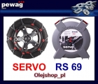 SERVO RS69 łańcuch śniegowy NOWOŚĆ. Komplet na dwa koła