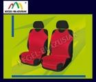 SHIRT RELAX. Pokrowce na przednie fotele - kolor czerwony