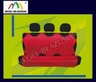 SHIRT RELAX. Pokrowce na tylną kanapę - kolor czerwony