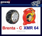Brenta-C XMR 64. Łańcuch śniegowy (komplet na dwa koła)