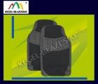 VESUVIUS - kolor czarny. Dywaniki samochodowe przednie