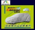 MOBILE GARAGE M hatchback - Pokrowiec na samochód popielaty