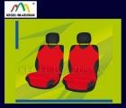 Pokrowce koszulki na przednie fotele. Rozmiar A - kolor czerwony
