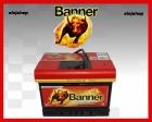 Banner Power Bull. Akumulator 62Ah 540A prawy plus