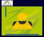 Pokrowce koszulki na zagłówki. Rozmiar uniwersalny - kolor żółty