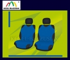 Pokrowce koszulki na przednie fotele. Rozmiar B - kolor niebieski